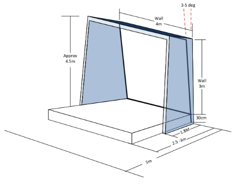 ValoClimb Technical Drawing