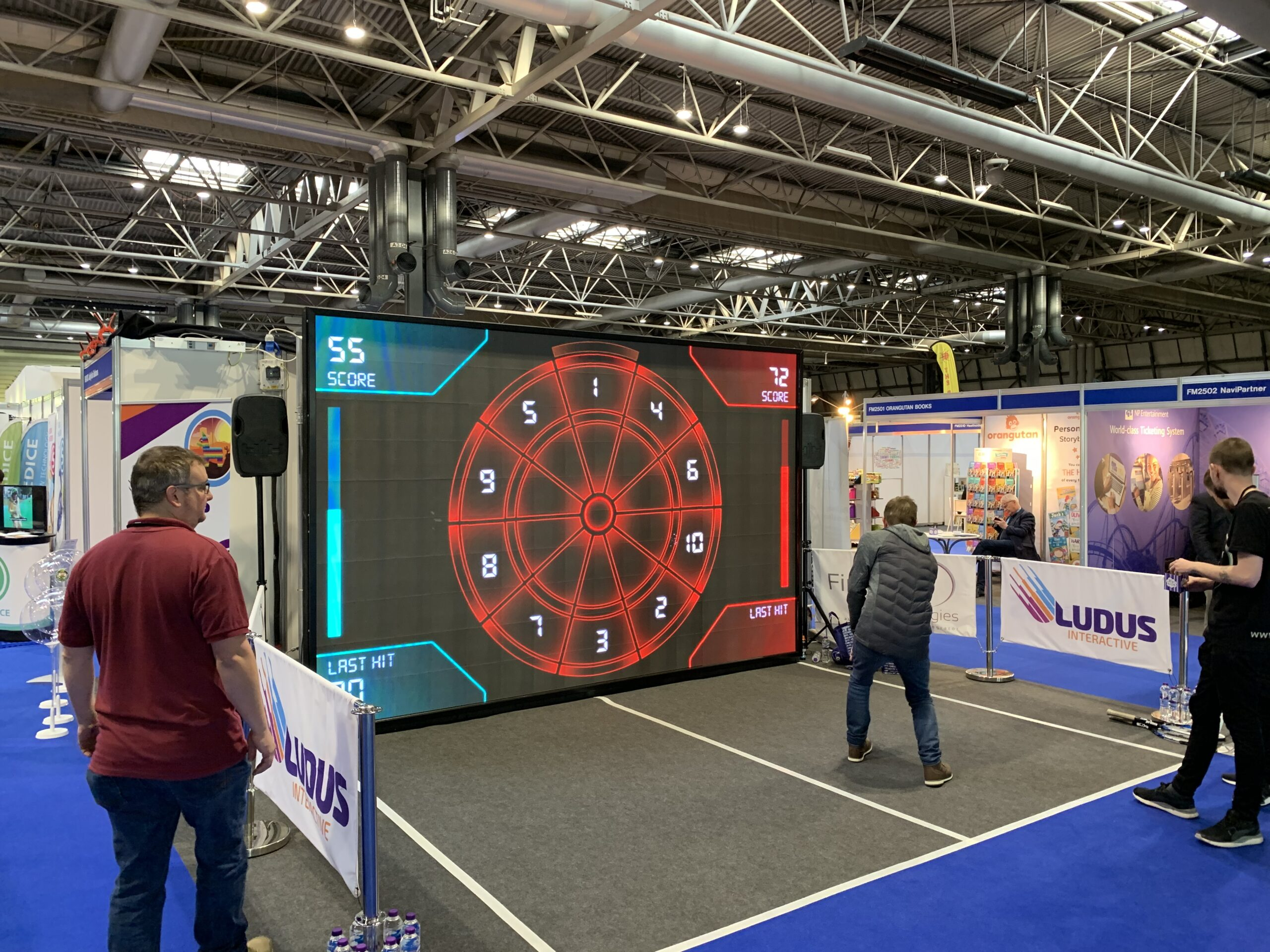 Ludus Interactive at BBC Festival of Sport 2019